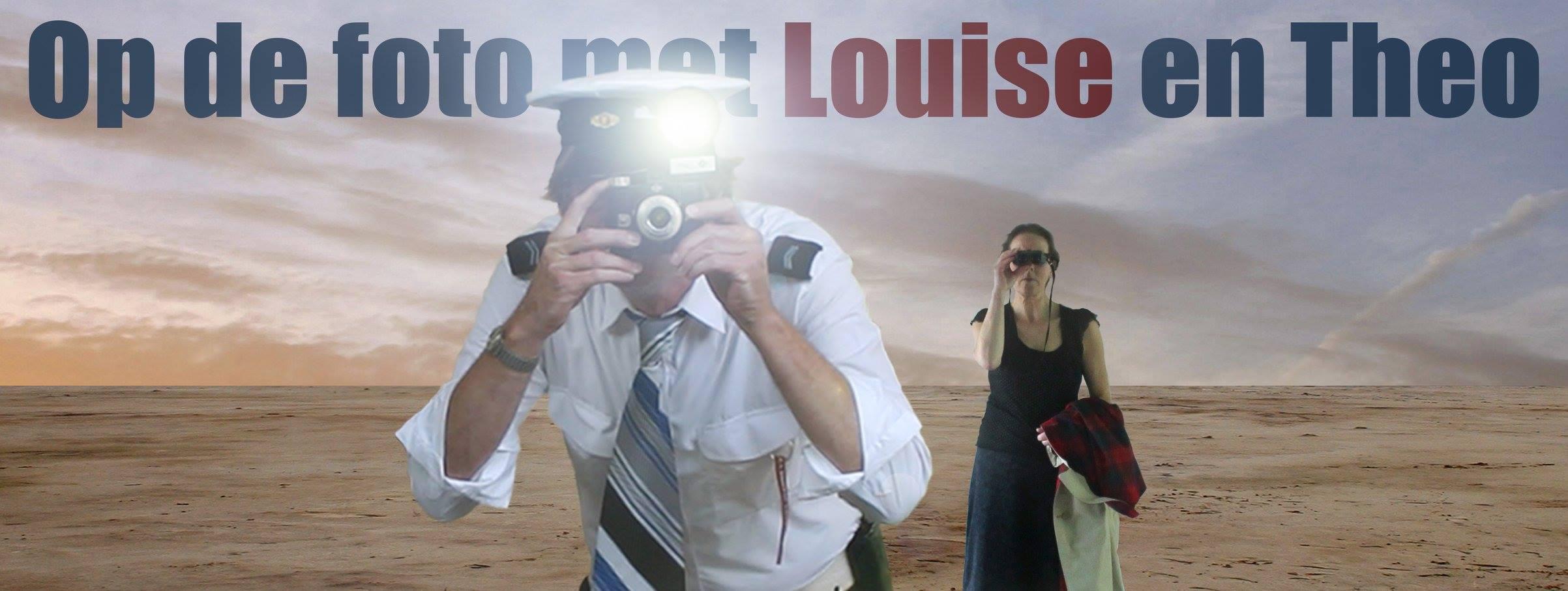 Op de foto met Louise en Theo