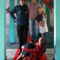 met Christine Weber-Reichmann en Paulo